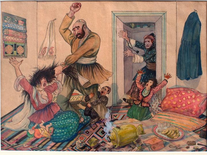 Вопрос свободы женщины в творчестве азербайджанских художников 1900-1940-х годов - ФОТО