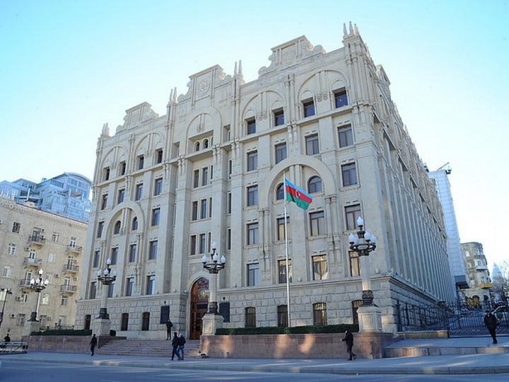 МВД назвало число задержанных участников незаконной акции в центре Баку