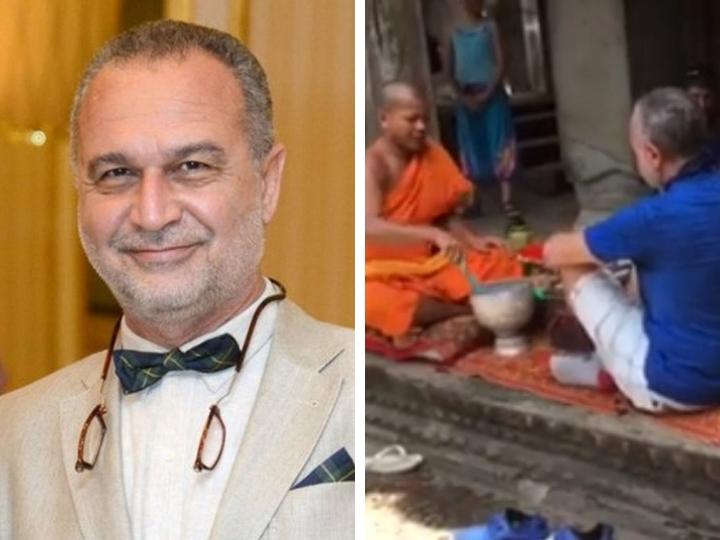 Азер Гариб: Три года ношу амулет, который мне повязал буддистский монах, а он никак не упадет – ВИДЕО