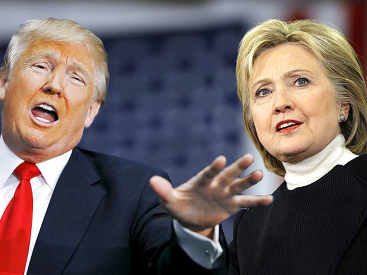 Трамп назвал Хиллари Клинтон сумасшедшей