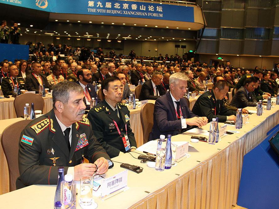 Министр обороны Азербайджана провел ряд встреч в Китае – ФОТО