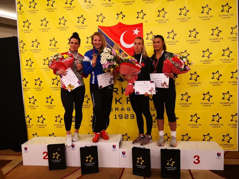 Анна Башта выиграла золото в Турции