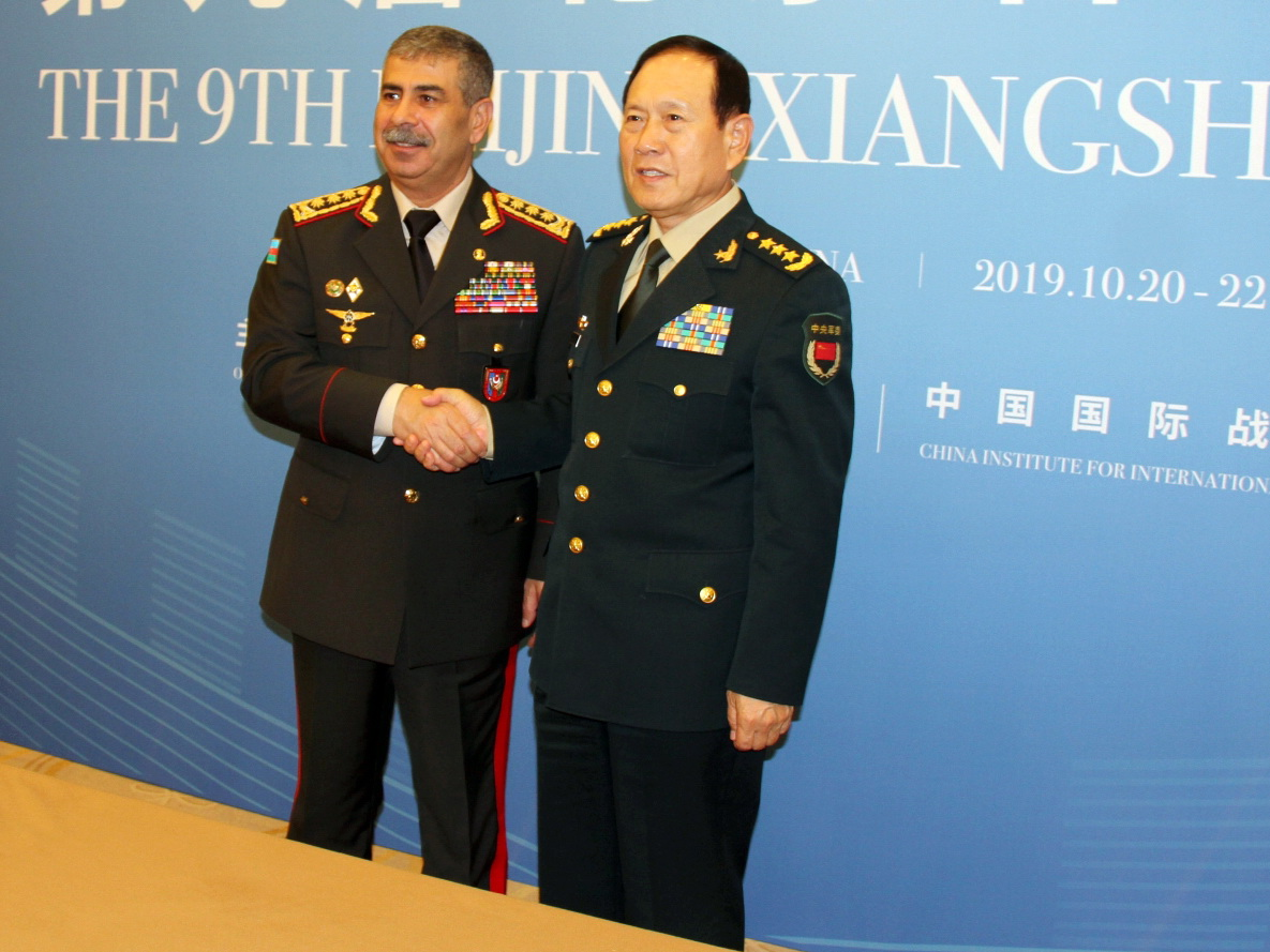 В Пекине состоялась встреча министров обороны Азербайджана и Китая - ФОТО