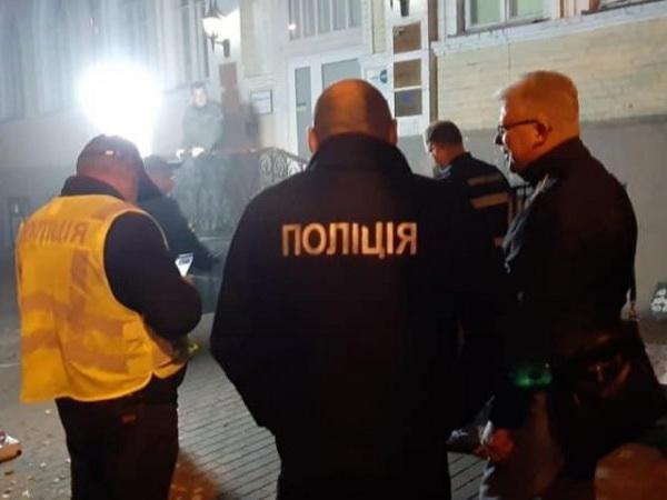 Двое мужчин погибли в результате взрыва гранаты в центре Киева