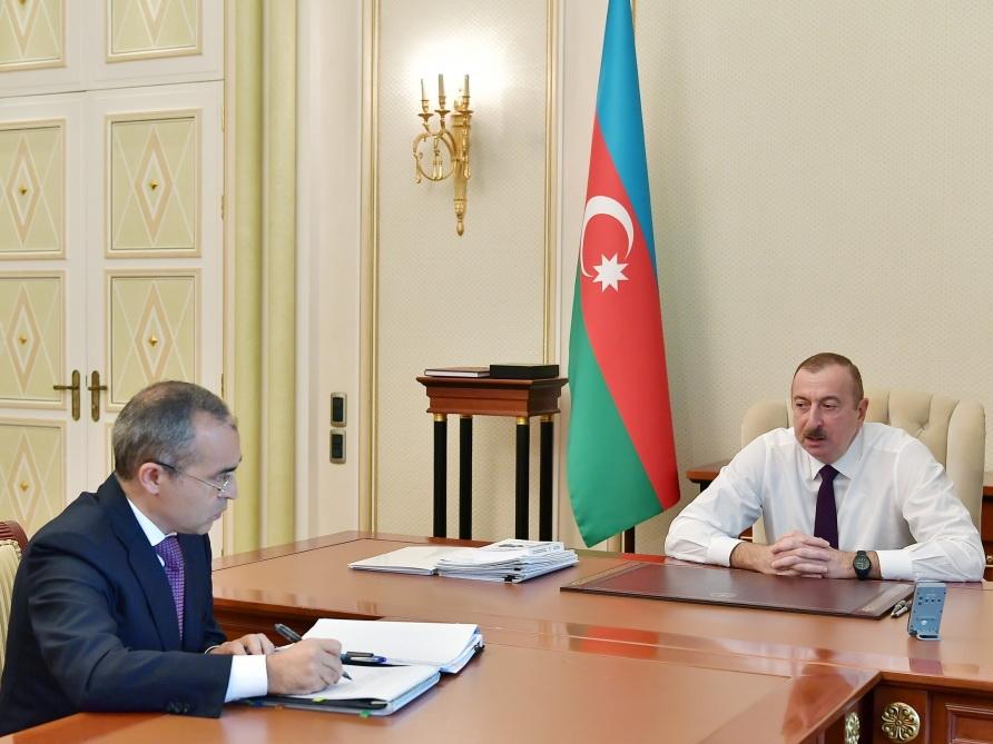 Ильхам Алиев: «Развитие экономики за счет ненефтяного сектора отныне является нашим основным приоритетом» - ФОТО - ВИДЕО