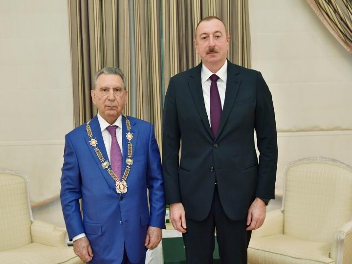 """Prezident İlham Əliyev Ramiz Mehdiyevi qəbul edib və ona """"Heydər Əliyev"""" ordenini təqdim edib – FOTO – VİDEO"""