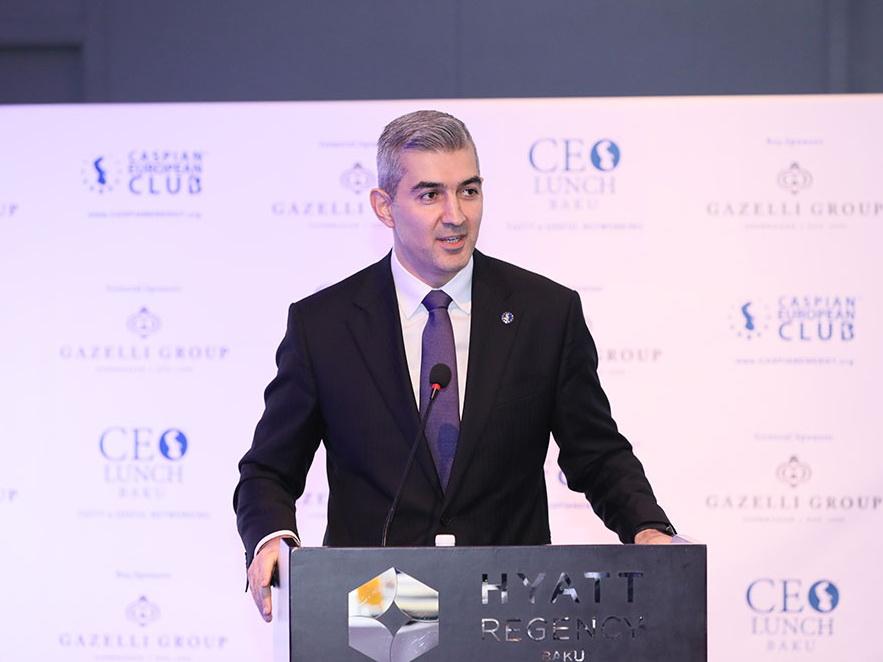 Вюсал Гусейнов стал почетным гостем СЕО Lunch Baku – ФОТО