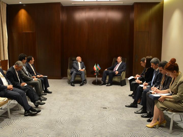 Эльмар Мамедъяров встретился с главой МИД Ирана