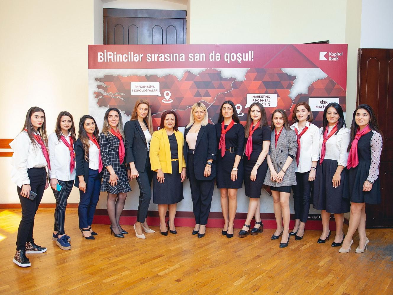 Kapital Bank провел «День карьеры» в UNEC – ФОТО