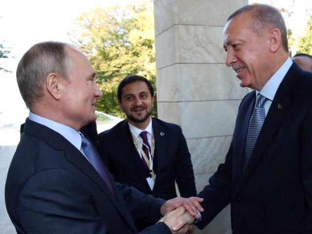 Путин - Эрдогану: Специально для вас погоду включили… - ВИДЕО