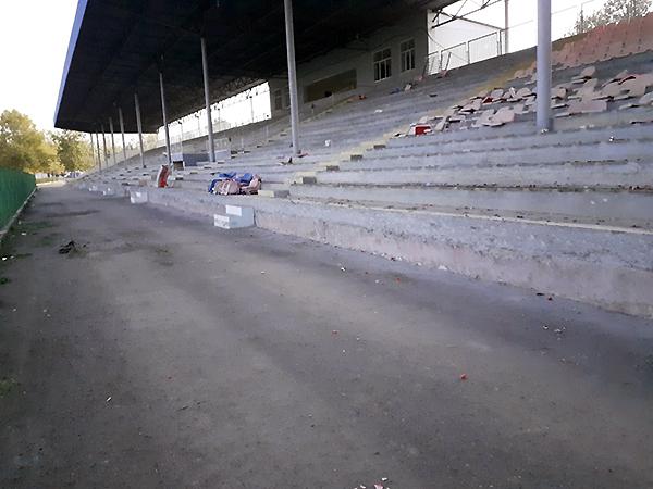 Tovuz şəhər stadionunda və Futbol Akademiyasında təmir-tikinti işləri davam edir - FOTO