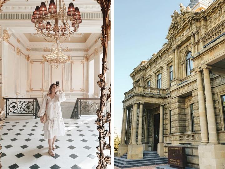 Необычные здания Баку: «Особняк де Бура» - ФОТО