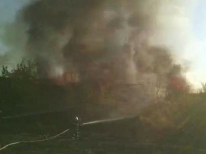 В Ереване горит аэропорт - ВИДЕО