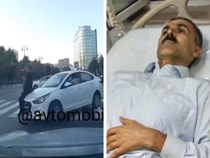 Депутат Милли Меджлиса посетил находящегося в коме правозащитника, сбитого на «зебре» в Баку - ФОТО – ВИДЕО - ОБНОВЛЕНО