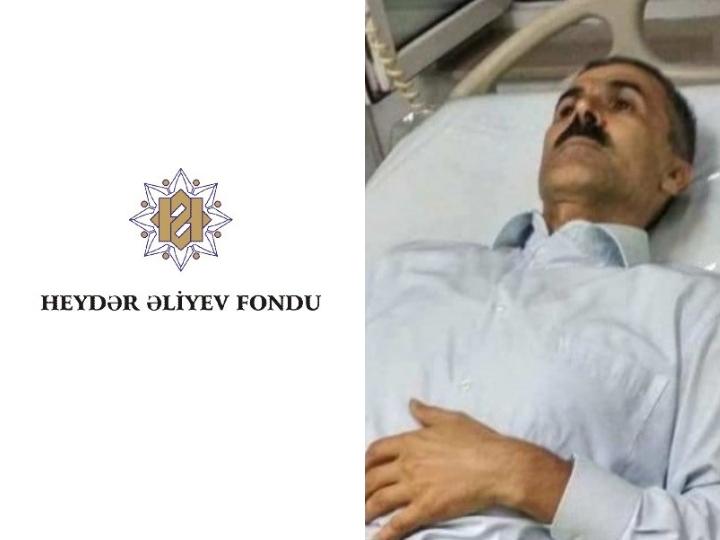 Фонд Гейдара Алиева взял на себя лечение Огтая Гюльалыева