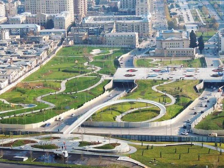 Центральный парк Баку: Позавчера, вчера, сегодня – ФОТО