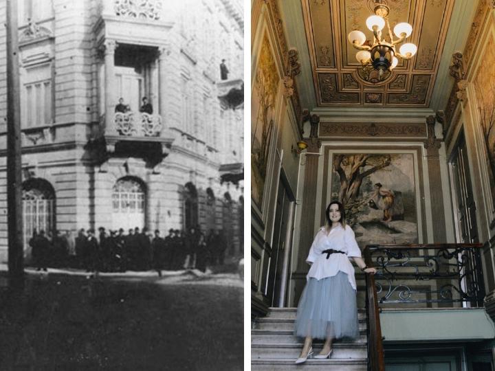 Необычные здания в Баку: Как француженка спасла дом Ашурбековых - ФОТО