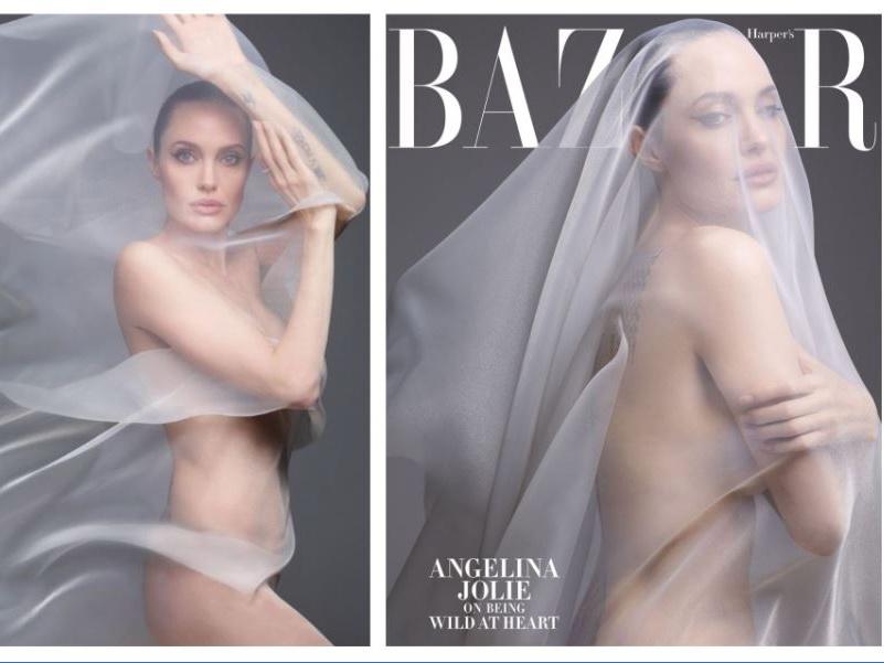 Голая правда: Анджелина Джоли снялась полностью обнаженной и дала откровенное интервью – ФОТО