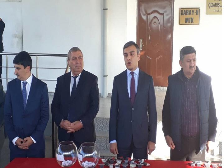Abşeronda Qarabağ müharibəsi və 20 Yanvar əlillərinə 40 mənzil verilib