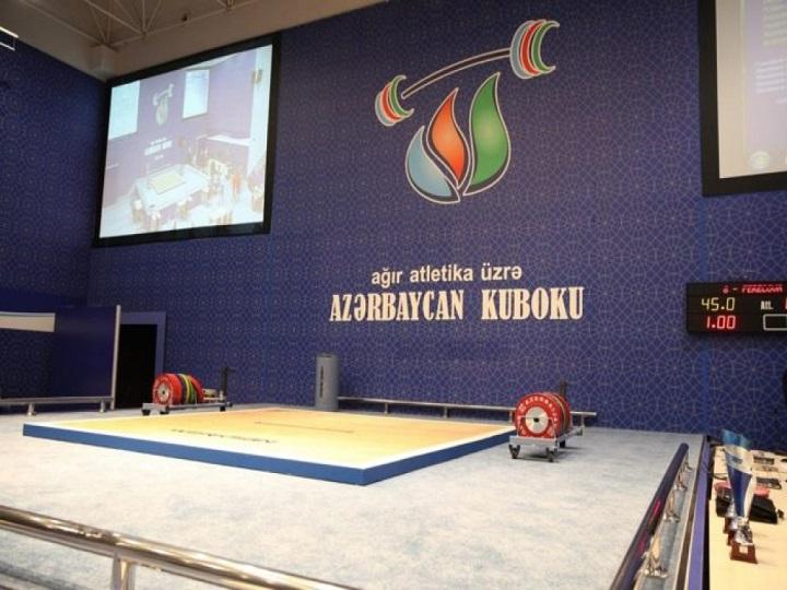 Ağır atletika üzrə Azərbaycan kuboku turniri keçiriləcək