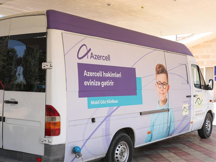 Новые визиты «Мобильной глазной клиники» Azercell
