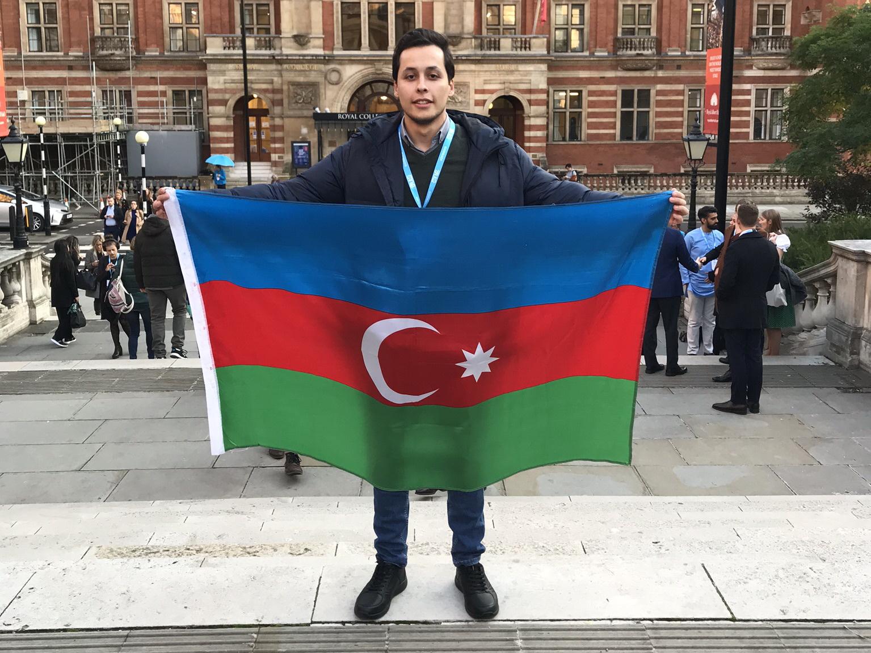 Гянджинец - единственный от Азербайджана стипендиат ВР на саммите One Young World – ФОТО