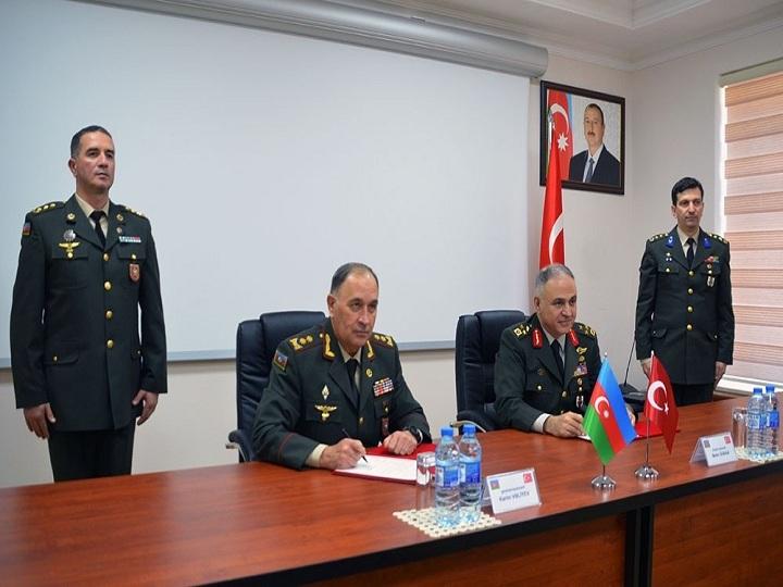 Azərbaycan-Türkiyə Yüksək Səviyyəli Hərbi Dialoq iclası başa çatıb, protokol imzalanıb