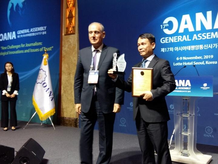 Председательство в Организации новостных агентств стран Азии и Тихого океана перешло к агентству Йонхап - ФОТО
