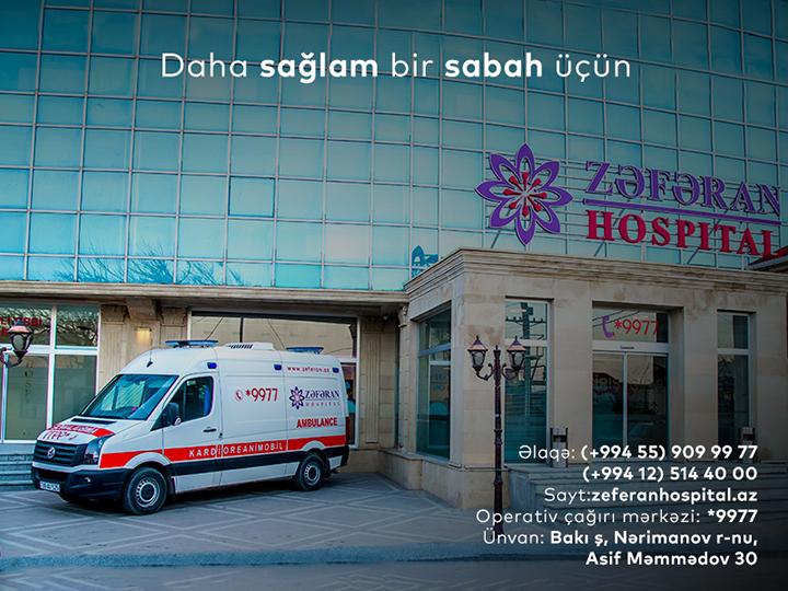 Zəfəran Hospital Yeni il qabağı kampaniyalara start verir