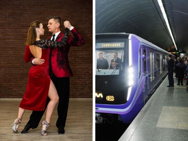 В Бакметрополитене пассажиры начнут танцевать танго – ФОТО