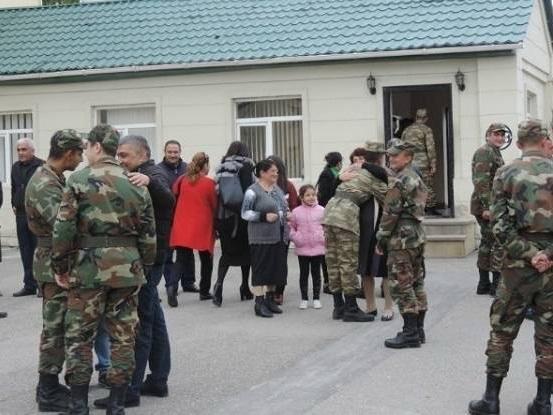 В Азербайджанской армии проходит день открытых дверей - ФОТО