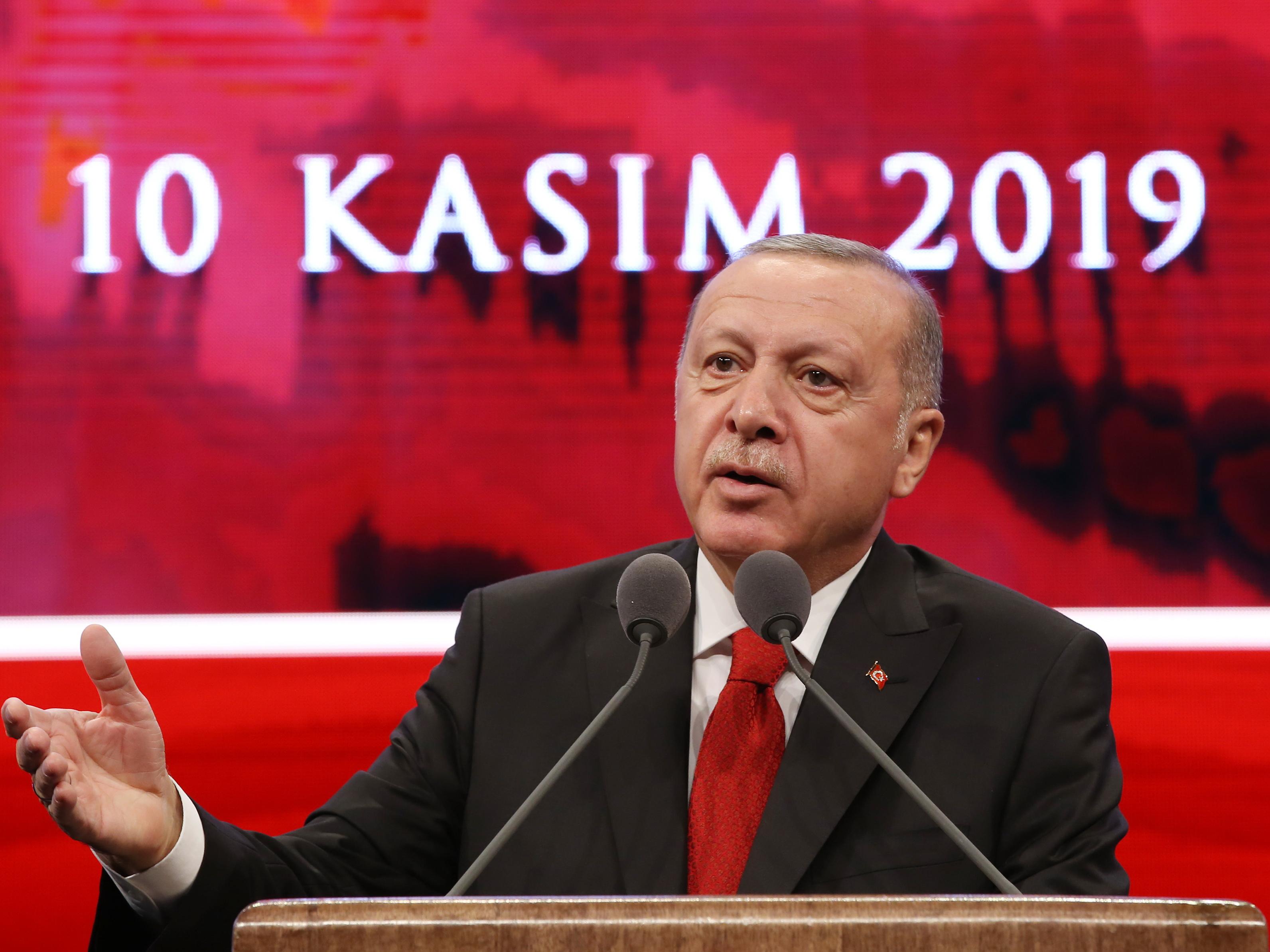 Эрдоган: «Антитурецкие круги задействовали все имеющиеся ресурсы»