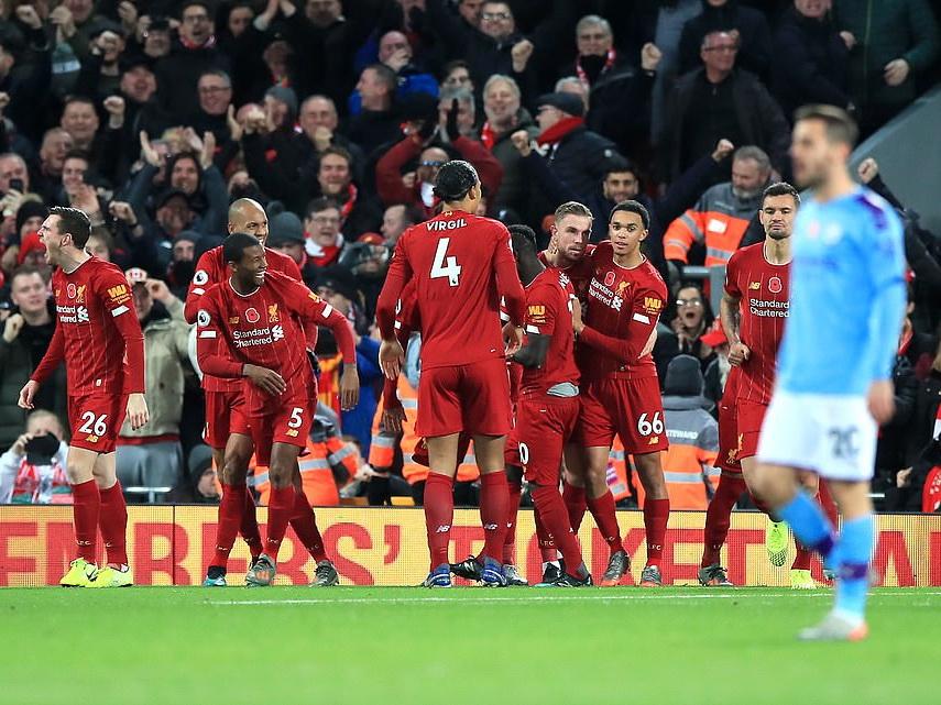 «Ливерпуль» обыграл «Манчестер Сити» в матче АПЛ - ФОТО