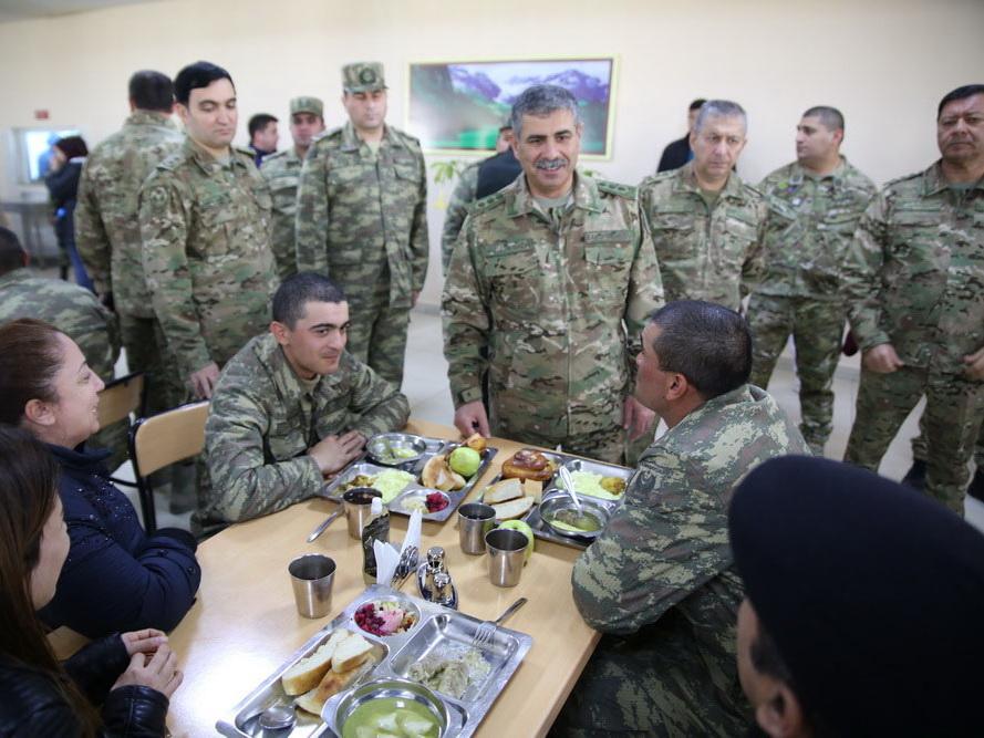 Закир Гасанов: «Наша армия оснащается современным вооружением и военной техникой» - ФОТО - ВИДЕО