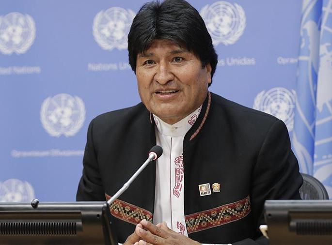 Boliviya prezidenti istefa etdiyini açıqlayıb