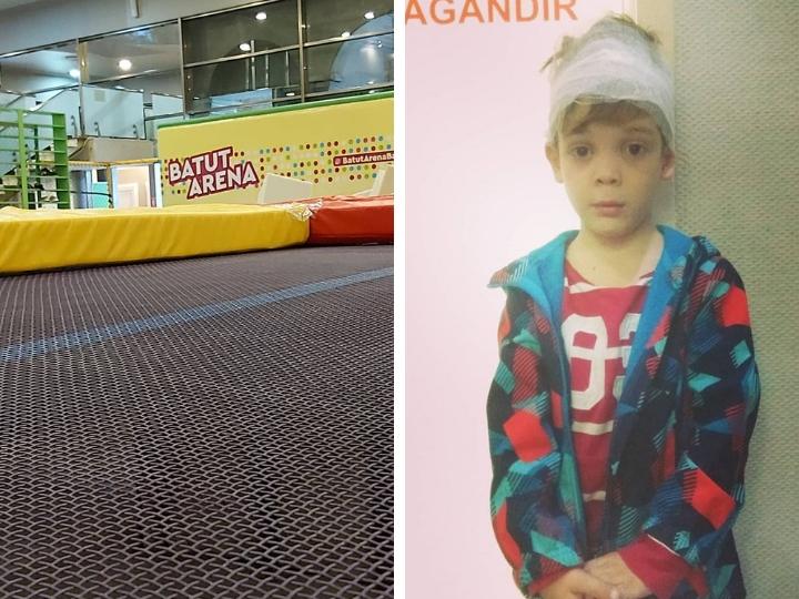 Несчастный случай в детском центре в Баку: все подробности – ФОТО - ВИДЕО