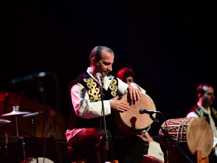 В Центре Гейдара Алиева состоялся концерт ритм-группы «Натиг» - ФОТО