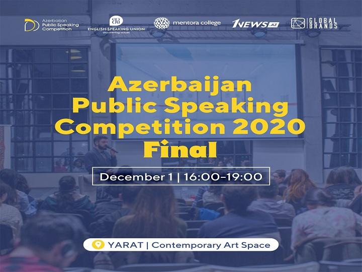 Bakıda dünyanın ən böyük natiqlik yarışmasının Azərbaycan üzrə final tədbiri keçiriləcək