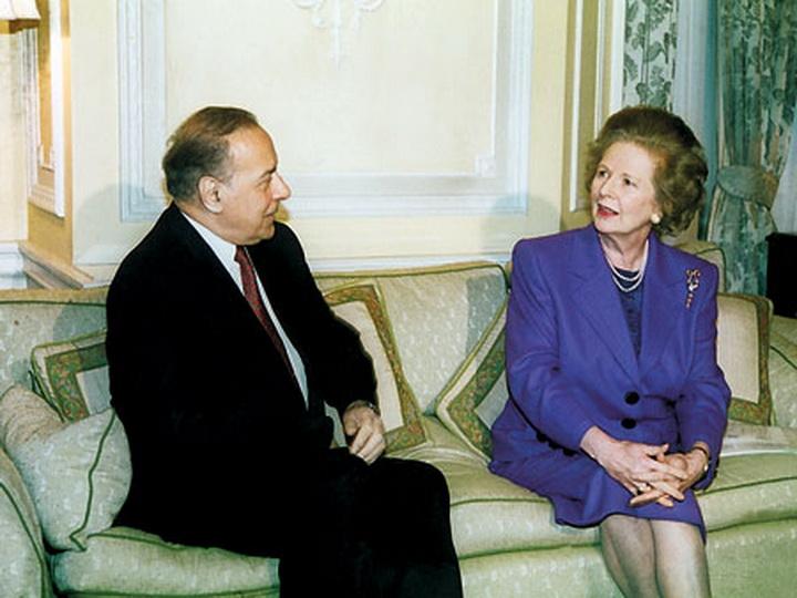 «Карабах должен быть возвращен Баку!». Что Тэтчер собиралась ответить Гейдару Алиеву? - ФОТО
