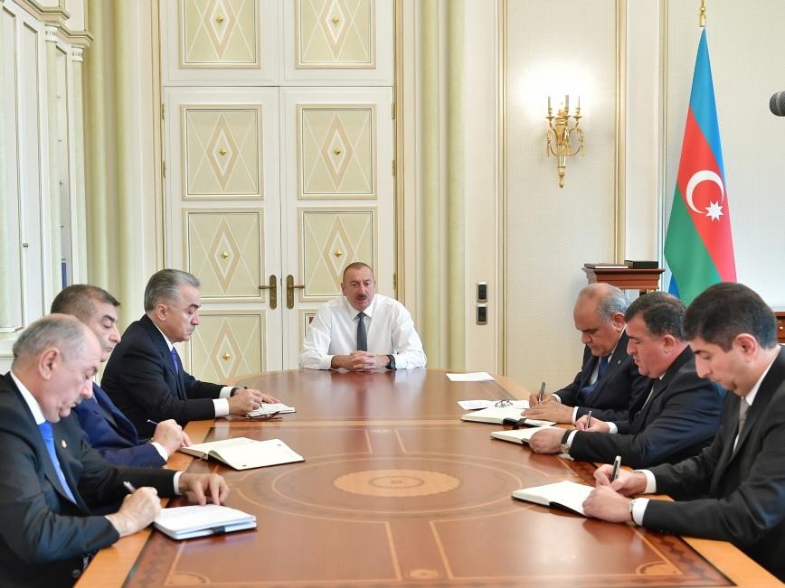 Президент Ильхам Алиев – новоназначенным главам исполнительной власти: «Вы должны достойно служить народу» - ФОТО - ВИДЕО