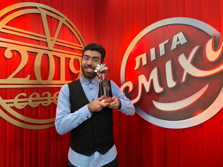 Азербайджанские юмористы стали лучшими в украинском шоу «Лига смеха» - ФОТО