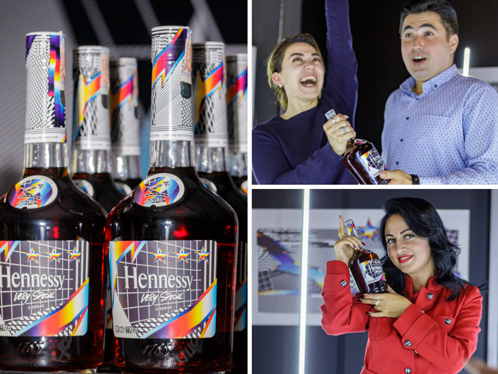 Hennessy VS və Felipe Pantone: irəliyə hərəkət – FOTO