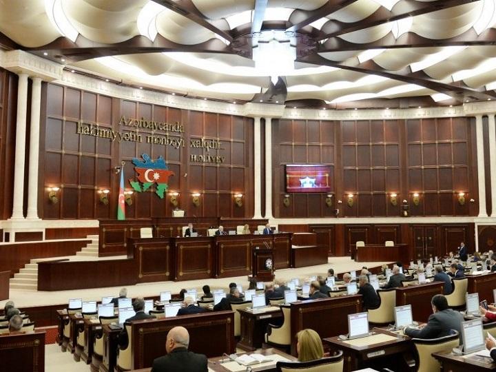 Milli Məclis 2020-ci ilin dövlət büdcəsi layihəsini müzakirə edir