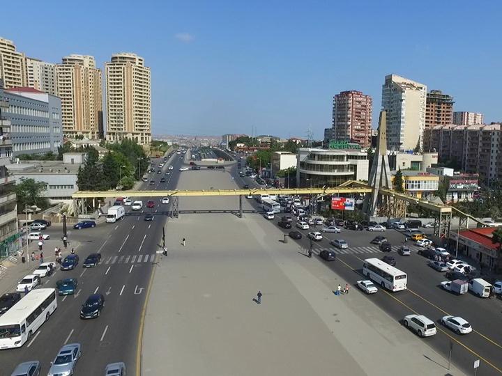 Огромный пешеходный переход в Баку оснастят лифтами - ФОТО - ПОДРОБНОСТИ