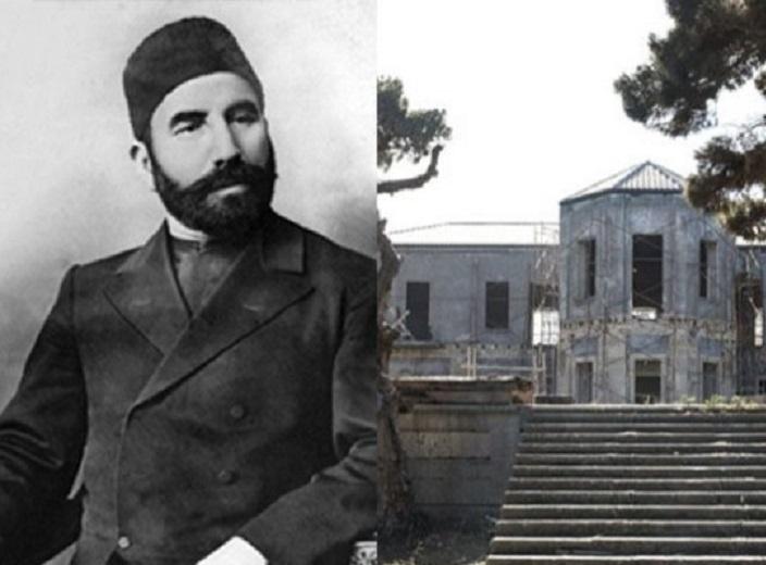 Hacı Zeynalabdin Tağıyevin Mərdəkandakı evi təmir olunur - VİDEO