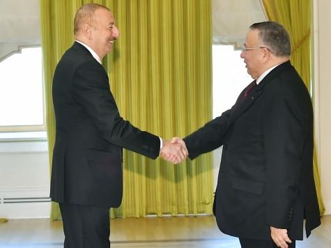 Президент Ильхам Алиев принял делегацию во главе с первым заместителем председателя Палаты представителей Египта