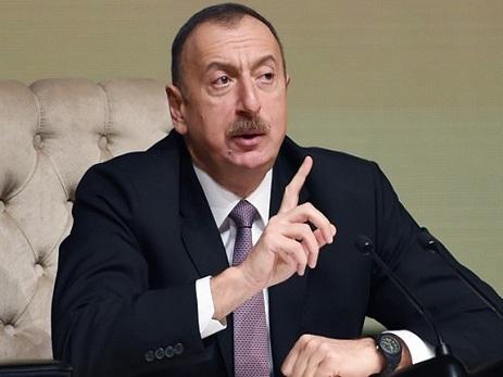Prezident İlham Əliyev: Yollar tamamilə yenidən qurulmalıdır ki, qatarların sürəti artsın