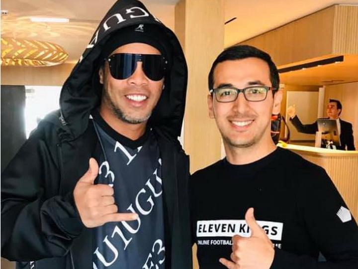 Роналдиньо поддержит азербайджанский стартап «Eleven Kings» - ФОТО