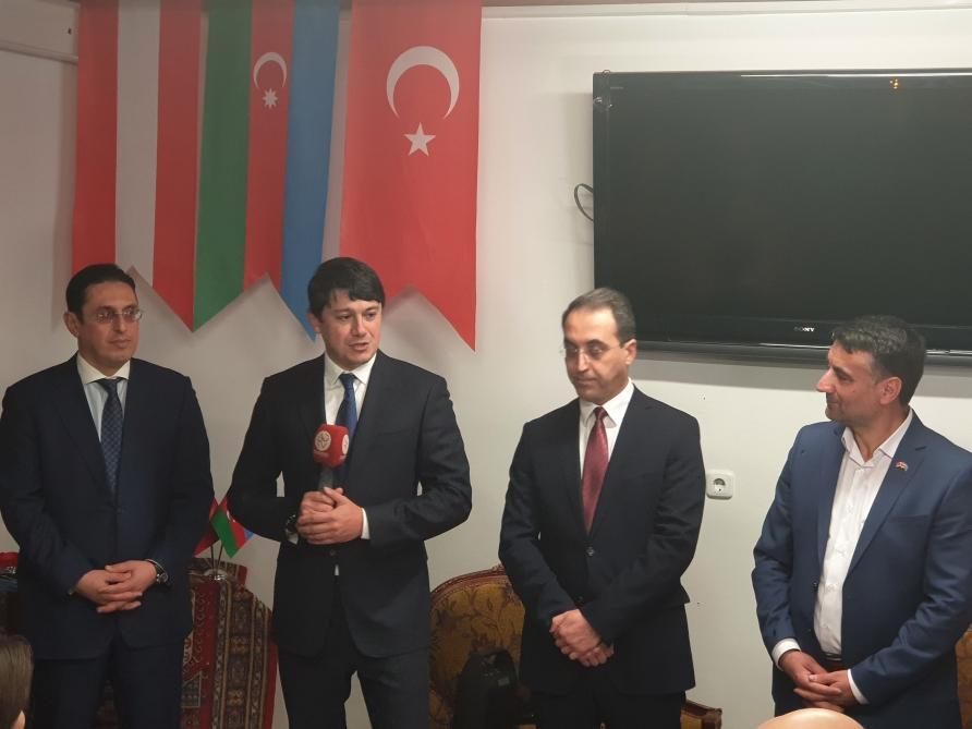 Avstriya-Azərbaycan Mədəniyyət və İş Adamları Dərnəyinin rəsmi açılışı olub