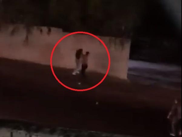 В Баку задержан полуголый мужчина, напавший на девушку – ВИДЕО – ОБНОВЛЕНО